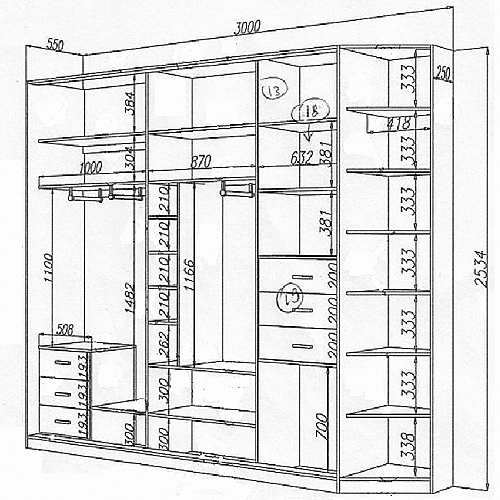 Как сделать шкаф-купе своими руками в домашних условиях